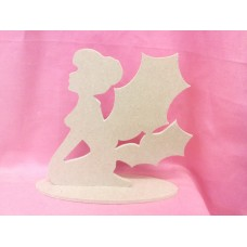 4mm MDF Christmas fairy